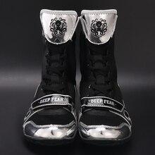 DF Боксерский Поединок для мужчин и женщин, боксерская Обувь Для Занятий Аэробикой, профессиональная боксерская игра