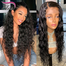 360 Lace Frontal Wigs For Black Women Elva Hair Pre Plucked Hairline With Baby Hair Natural