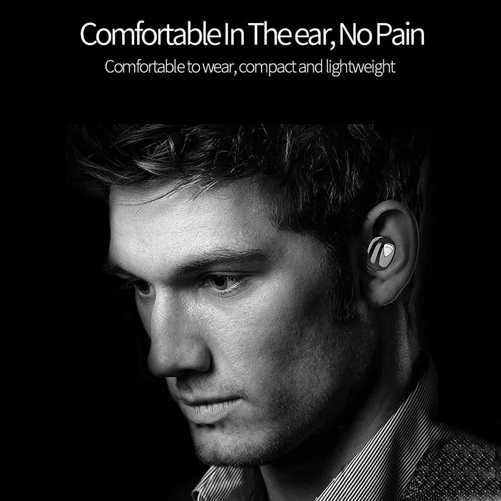 DG509 TWS auriculares inalámbricos auténticos Bluetooth 5D auriculares estéreo Mini TWS auriculares impermeables 2200mAh banco de energía para teléfonos inteligentes