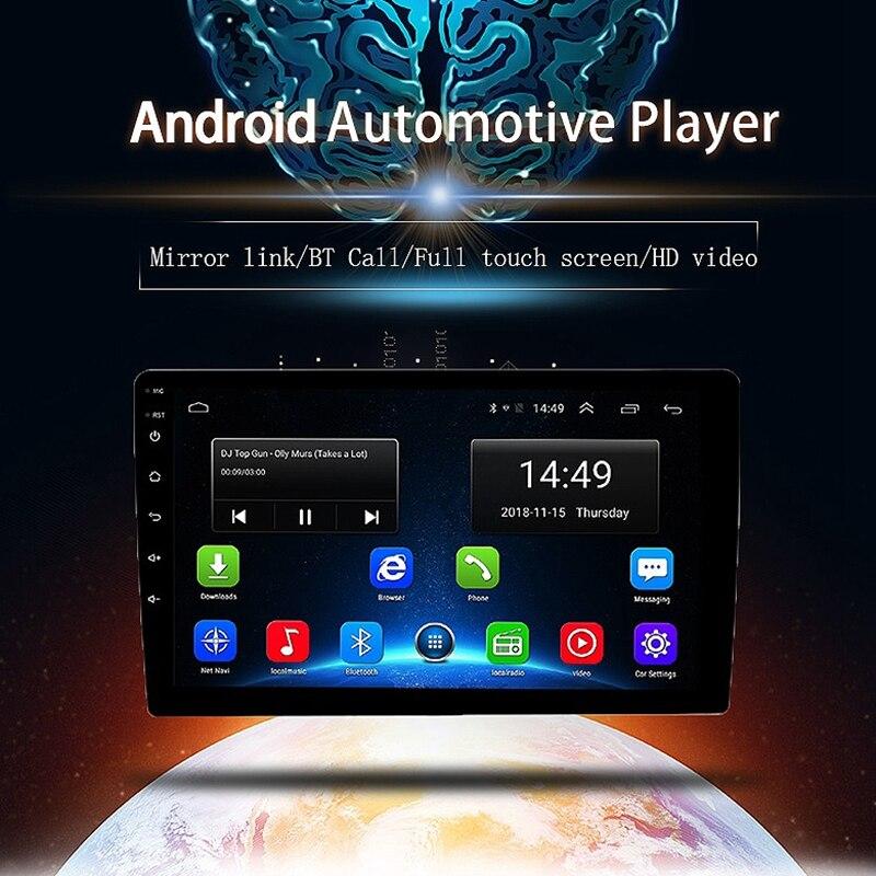 2 din Android 9,0 Восьмиядерный PX6 автомобильный Радио Стерео gps Navi Аудио Видео плеер 4G Wifi BT HDMI Carplay tv OBD DAB + SWC 4G + 32G - 2