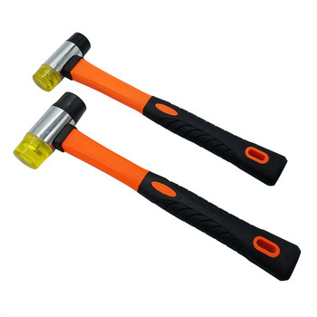 цена на 1pc 25MM 30MM Installation Hammer Double Sided Rubber Mallet Face Home Improvement DIY Household Hand Tool