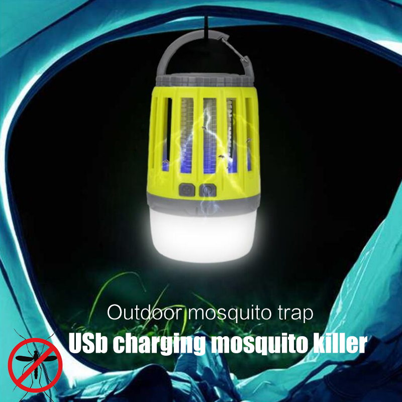 Led Mosquito Killer Lamp Light Zapper Anti Insect Flying Moths Bug Insects Pest