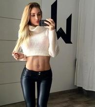GENPRIOR נשים מעלית ירך אפרסק מכנסיים רך Slim PU שחור חותלות גבוהה אלסטי ארוך סקיני עור מכנסיים מקרית מכנסי עיפרון