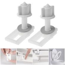 Ремонтный комплект для унитаза крепежный болт нижней части белый