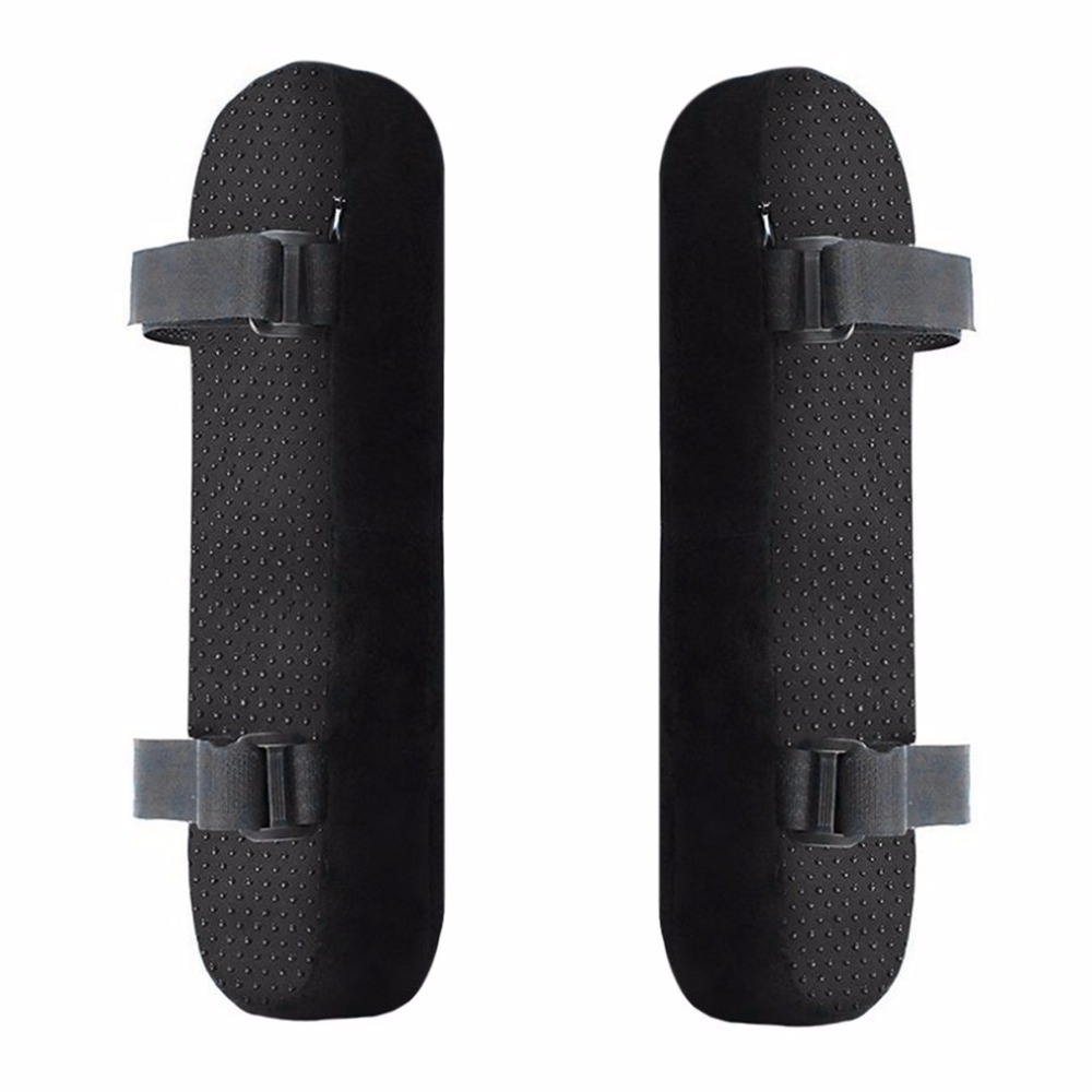 2pcs Chair Armrest Pads Ultra-Soft Memory Foam Elbow Pillow Support Universal Fit For Home Or Office Chair For Elbow Relief