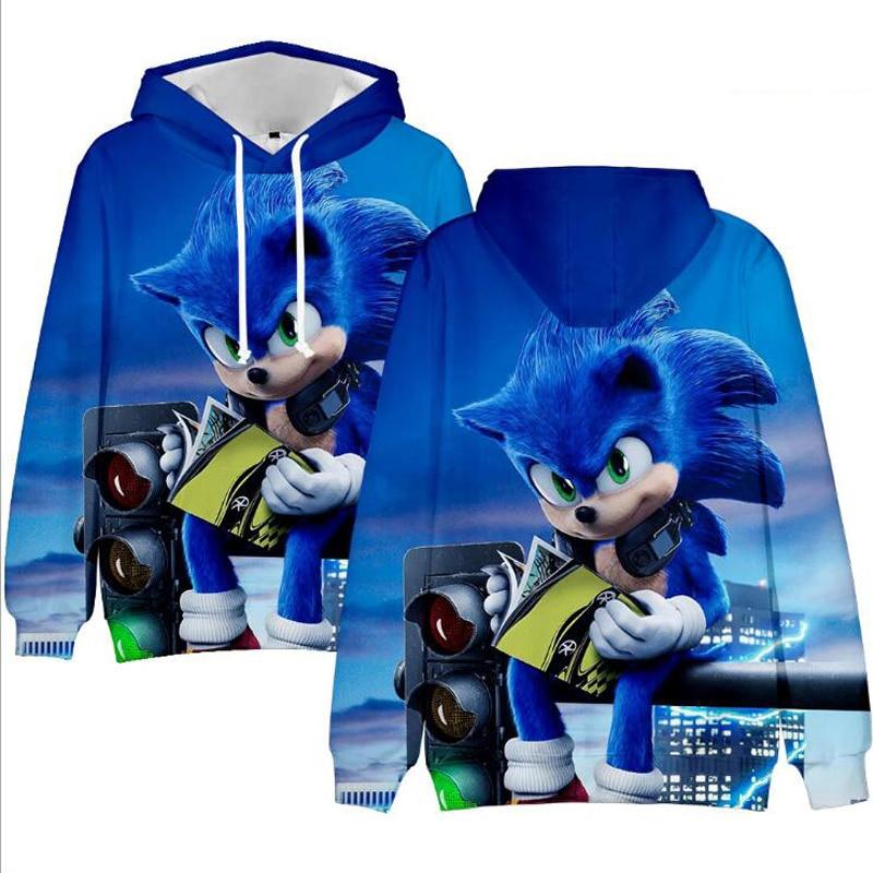 2 To 13 Years Kids Hoodies Sonic The Hedgehog 3d Printed Hoodie Sweatshirt Boys Girls Long Sleeve Hooded Jacket Children Clothes Hoodies Sweatshirts Aliexpress