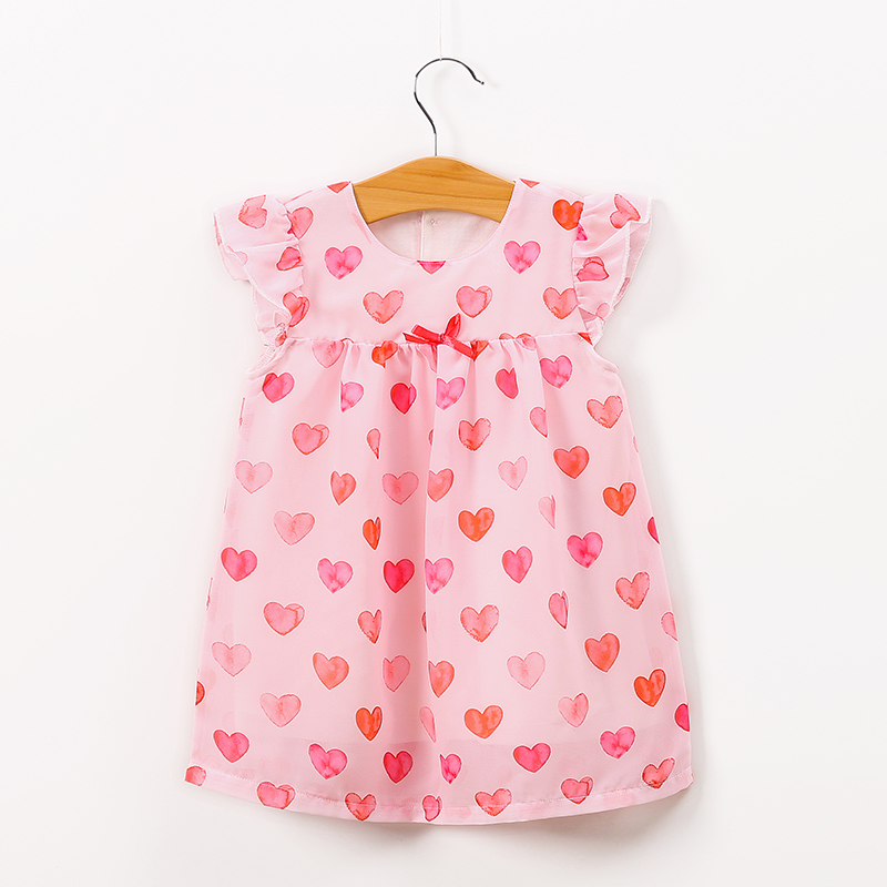 Yierying Baby Dress 2019 Summer Girls Dress Leisure sleeveless Print Infantile Dress Birthday Party Princess Dress Girls Clothes in Dresses from Mother Kids