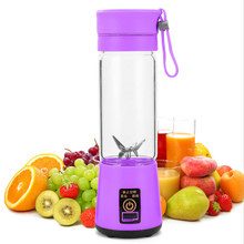 DIDIHOU 400ml Portable Juicer Electric USB Rechargeable Smoothie Machine Juice Cup Maker fast Blenders Food Processor Hot(China)