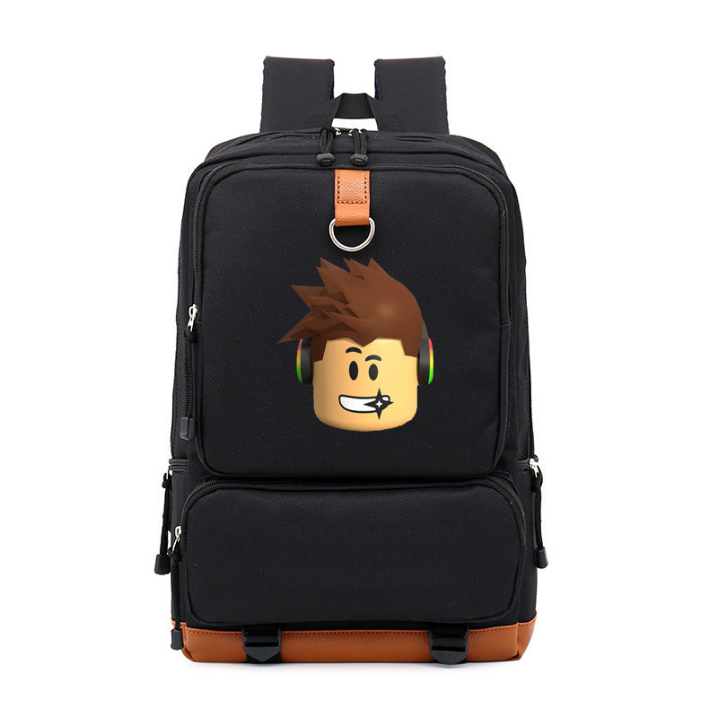 Robloxer Game Casual Backpack For Teenagers  Kids Boys Children Student School Bags Travel Shoulder Bag Unisex Laptop Bag Kid