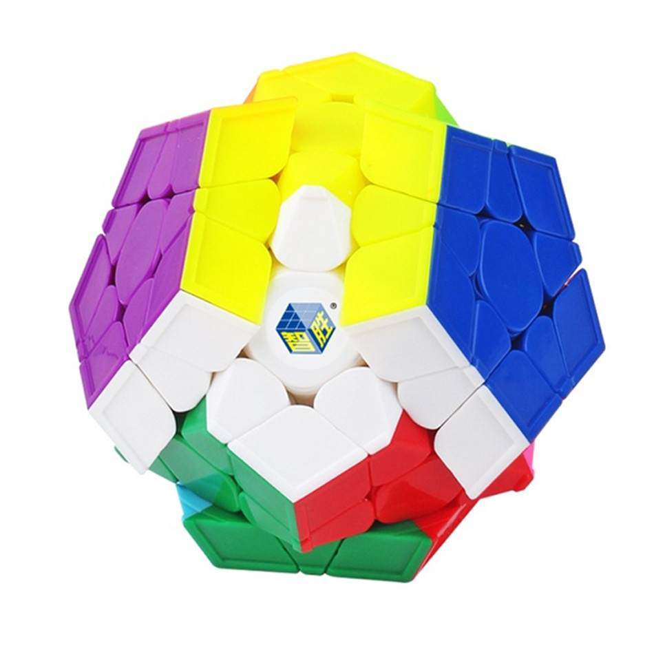 Yuxin Little Magic 3x3 Megaminx Magic Cube Wumofang Dodecahedron Stickerless Puzzle Toys For Children Kids Gift Toy