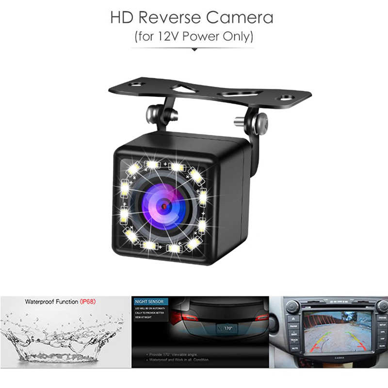 5 дюймов 800*480 TFT lcd складываемый автомобильный монитор обратная парковка и 12 Светодиодный камера заднего вида ночного видения