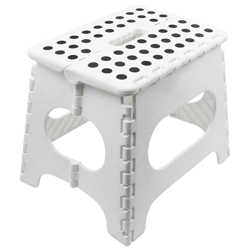 Sturdy Foldable Footstool - The Lightweight Foldable Footstool Is Enough To Support Adults And Safe For Children