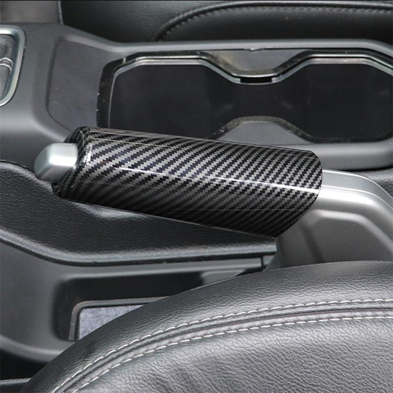 ABS Handbrake Decorative protective cover For 18-21 JL Wrangler Interior decoration accessories