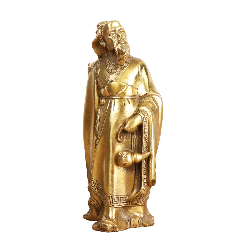 MOZART-ornements en cuivre pur Hua Tuo | Ornements médecine roi, décoration féerique médicale, salle de médecine, ornements artisanaux