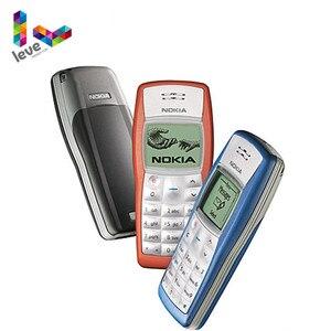 Разблокированный телефон Nokia 1100 GSM 900/1800 Поддержка многоязычного использования и восстановленного сотового телефона Бесплатная доставка