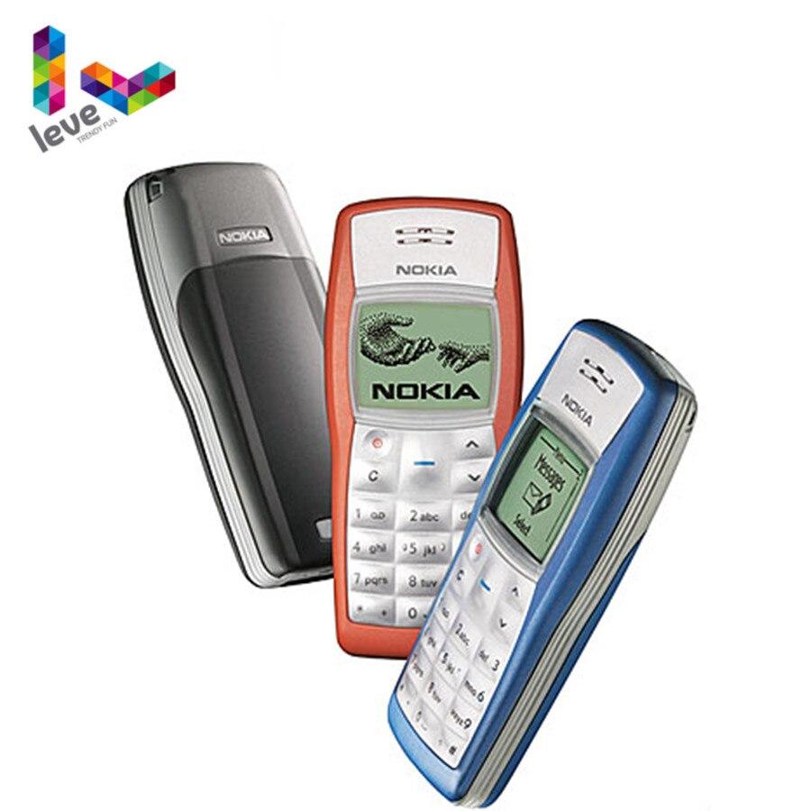 Nokia 1100 Unlocked Phone GSM 900/1800 obsługa wielu języków używany i odnowiony telefon komórkowy darmowa wysyłka