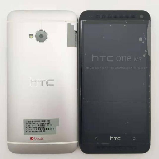 HTC One M7 Refurbished- Original Mobile Phone ONE M7 2GB RAM 16GB ROM Smartphone 4.7 inch Screen Android 5.0 Quad Core phone 2