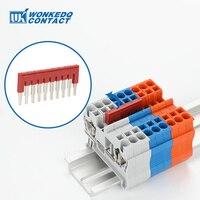 Puente de cableado de FBS10-3.5 para PT1.5, Conector de clavija FBS 10-3,5 DIN, accesorios de bloque de terminales, 1 ud.
