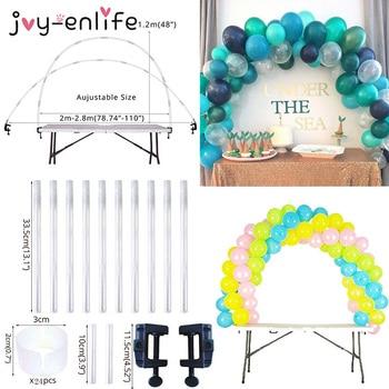 38pcs Adjustable Table Balloon Arch Kits DIY Birthday Party Wedding Decoration Balloons Column Stand Baby Shower decor ballon