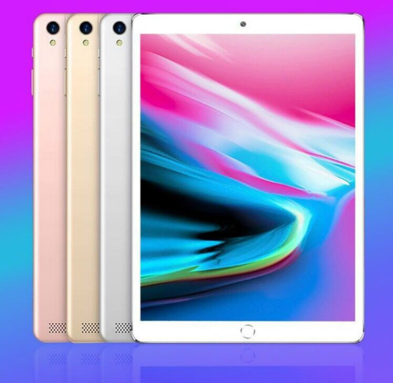 2020 NEW 10.1 Inch Tablet PC Android 8.0 Octa Core 6GB RAM 128GB ROM 5.0MP 1280*800 IPS 4G Phone Kids Tablets 10 10.1 Phablet