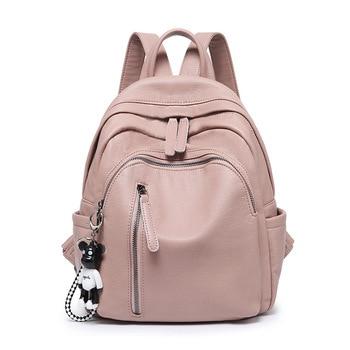 Small Backpack Women Soft Leather Backpack Mochila Feminina Designer Backpacks Women High Quality School Bags for Teenage Girls цена 2017