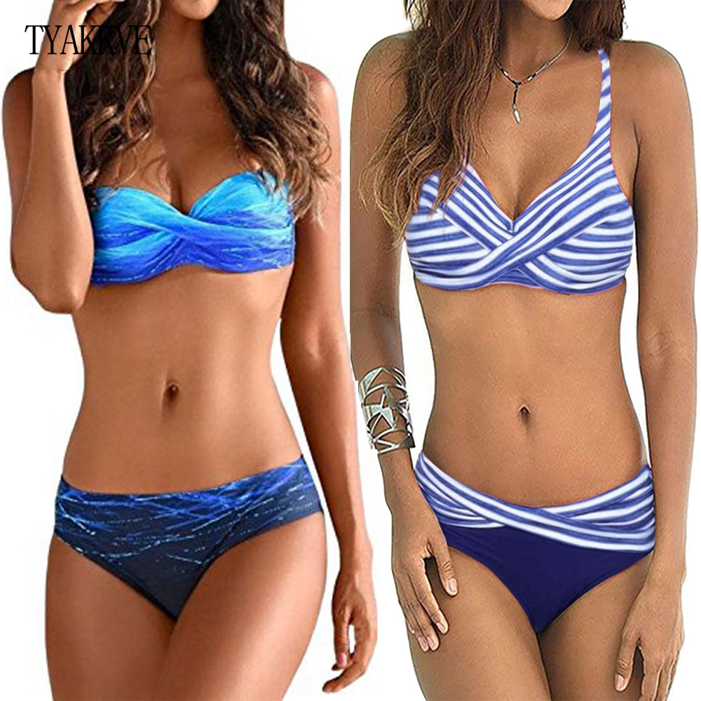 Sexy Print Swimwear Women Bikini Set 2019 New Push Up Biquini Female Swimsuit Brazilian Bathing Suit Bathers Beach Swimming Suit