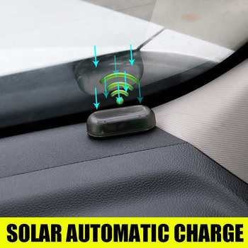 All Car Alarm Lamp USB Wireless Warning Anti-theft Light Fake Security Solar Energy Simulated LED Flashing - discount item  5% OFF Security Alarm
