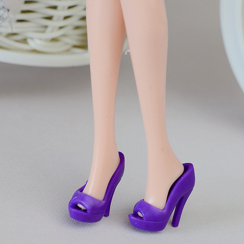 1/6 Doll Shoes Mix style High Heels Sandals Boots Colorful Assorted Shoes Accessories For Barbie Doll Baby Xmas DIY Toy 2
