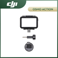 طقم إطارات كاميرا العمل DJI oomo مع ميزات حماية سلس LED مؤشر نافذة مريحة الصرف تصميم الإفراج السريع