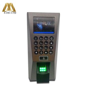 F18 di Presenza di Tempo di impronte digitali Biometrico di Impronte Digitali di Controllo di Accesso Lettore di Smart Sistema di Controllo Porta di Accesso del Software Libero Professional Security Series Store