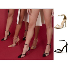 Womens Shoes High Heel Sandals Woman Shoes Transparent Clear Sandal Summer Shoes Buckle Strap Pointed Toe Sexy Ladies Pumps dijigirls sexy closed pointed clear sandals high heels ladies party shoes womens heels ankle buckle pumps thin heel sandales