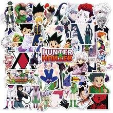 50 pçs hunter×hunter japão anime coleção adesivo para bagagem portátil skate bicicleta pegatinas brinquedo decalques adesivos f5