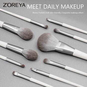 Zoreya brushes Makeup brushes set Professional Beauty Make up brush Synthetic Hair Foundation Powder Brush