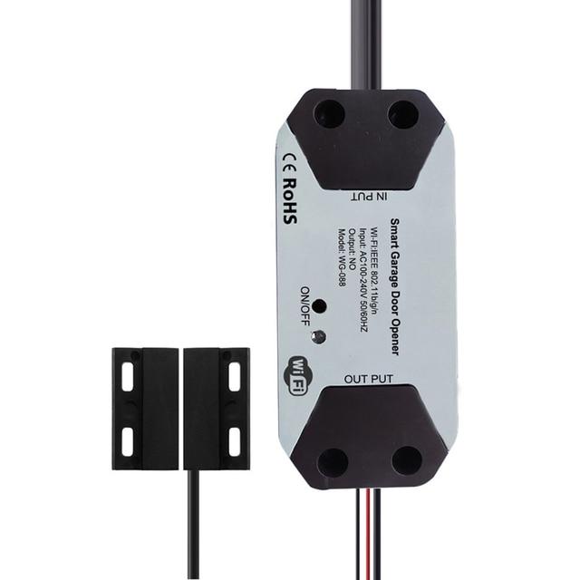 Smart Wifi Schakelaar Voor Alexa Google Thuis Slimme Leven/Tuya App Controle Garagedeuropener Smart Deurslot Controller
