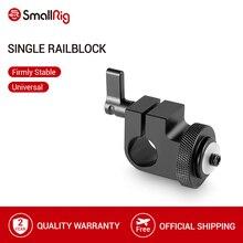 SmallRig Dslr Rig 15 millimetri Rod Morsetto con 1/4 Filo Foro per Collegare Macchina Fotografica Microfoni/Audio Recorder 860