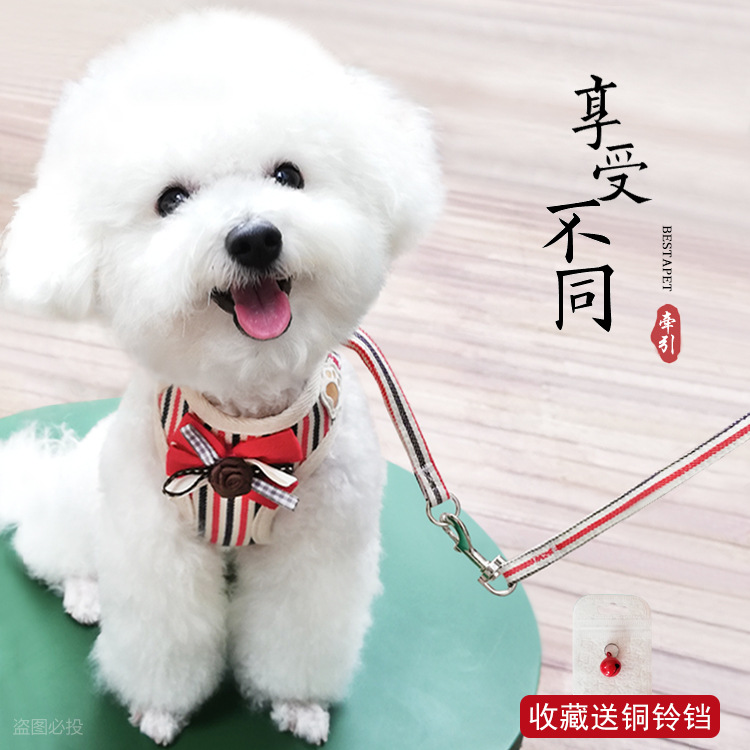 Vest Pet Puppy Dog Small Lanyard Cute-Harness Chain Traction Dogs Tetum For Bear Not Retractable