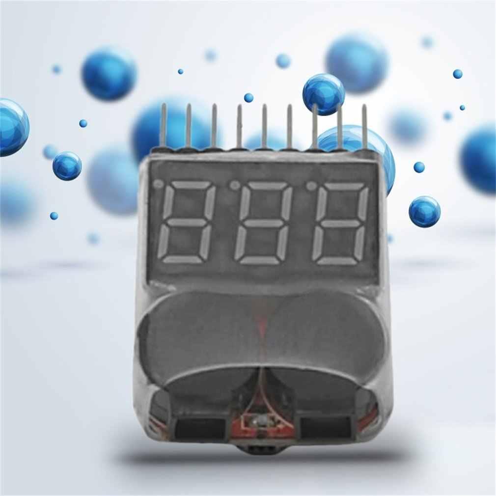 OCDAY 2 في 1 1-8S يبو/ليثيوم أيون/Fe بطارية جهاز قياس الجهد الكهربائي الجهد المنخفض الجرس إنذار مدقق للمركبات وألعاب التحكم عن بعد لتقوم بها بنفسك