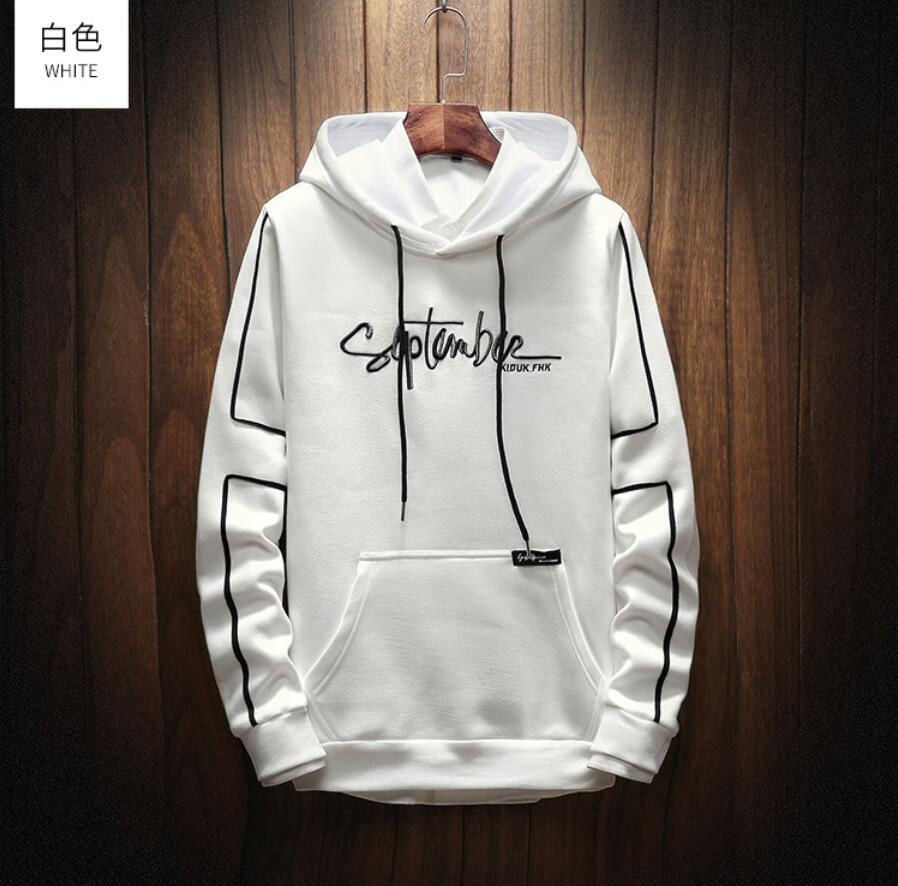 2019 New Hot Sale Autumn Men Cotton Hoodies Sweatershirt Drop Shipping Fashion Printed Male Hoodies Hip Hop Clothing