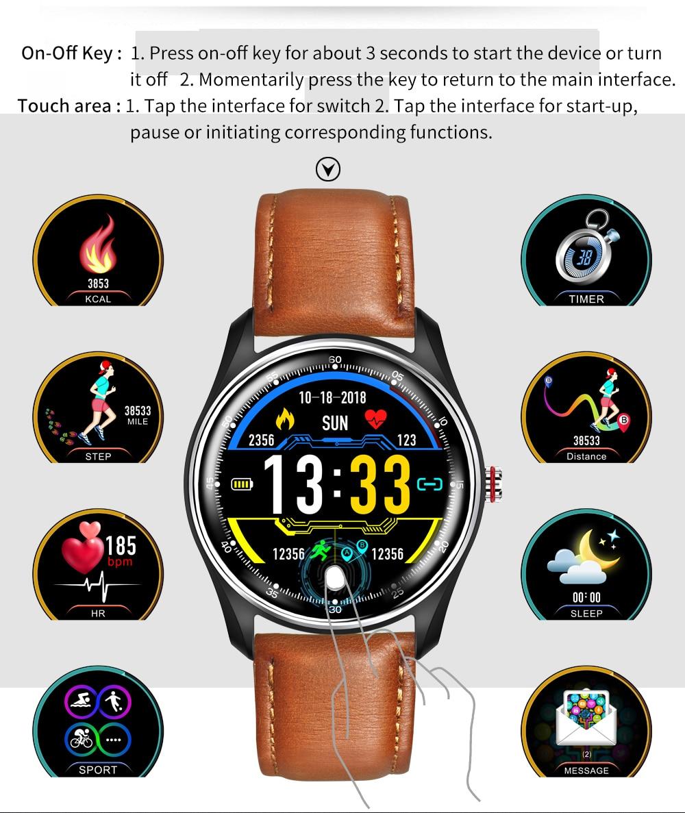 LYKRY MX9 ECG  Smart Watch Bracelet With Electrocardiograph Heart Rate Blood Pressure Monitor