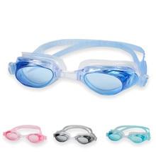 Lunettes de natation en Silicone pour hommes, femmes et enfants, étanches, Anti-buée arène, protection UV