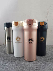 Travel Mug Car-Thermo-Cup Vacuum-Flasks Coffee Stainless-Steel Double-Wall 500ml Tea