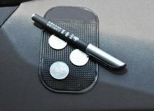 Black Anti-Slip Car Dash Sticky Gel Pad Non-Slip Universal Mount Holder Mat Washable Silicone Gel Pad Car Accessories Hot