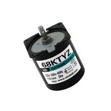 AC220V getriebe motor 2.5/5/10/15/20/30/50/60/80/100 rpm Starke Permanent Magnet Synchron Getriebe Motor Low speed AC motor