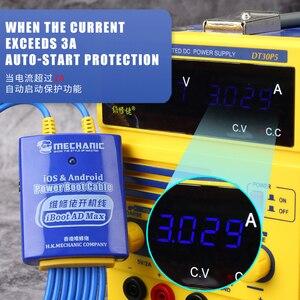 Image 2 - Mechanik telefon komórkowy kabel zasilający dla iPhone Samsung Huawei Android kabel testowy zasilania DC płyta główna aktywacja linii rozruchowej