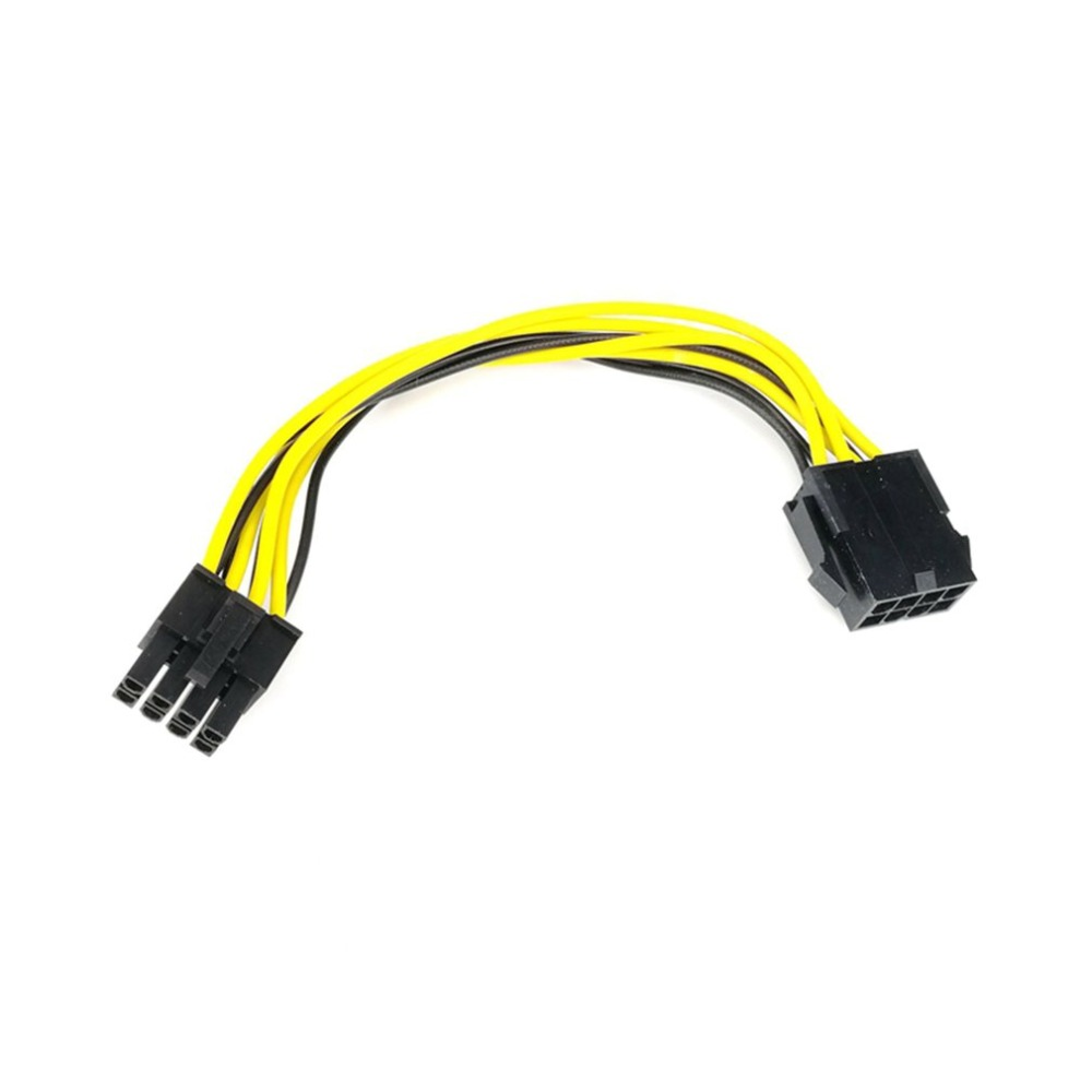 CPU Power Supply Cable 8Pin Extension Cable 8P To 8P Male To Female Cord Motherboard Extend Cable Adapter For Miner PC