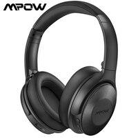 Mpow H17 cuffie con cancellazione attiva del rumore aggiornate cuffie Bluetooth Wireless con ricarica rapida e 30 ore di riproduzione musica Hi-Fi