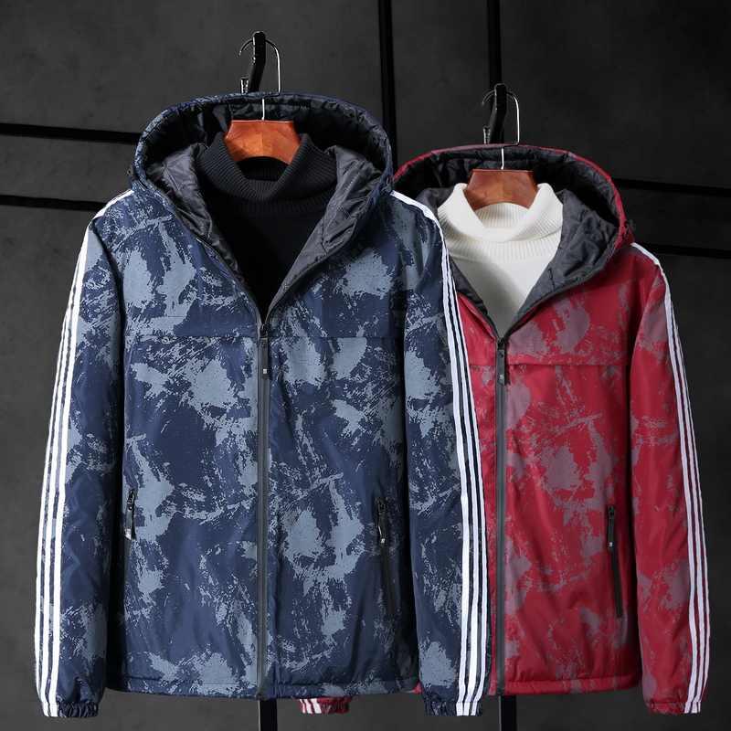 בתוספת גודל 10XL 9XL 8XL חורף מעיל גברים מותג בגדי אופנה מזדמן Slim עבה חם Mens מעילי מעיילים עם ברדס מעילי