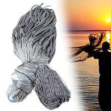 Handmade finlandia sieć rybacka Gillnet pojedyncza warstwa Monofilament sieć rybna przyklejony Mesh Catch 25 60mm Heald Mesh 1.8M * 30M