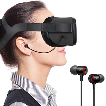 VR Game  Earphones Wired Headphone for Oculus Quest Headset All-in-one Gaming Parts - discount item  20% OFF Portable Audio & Video