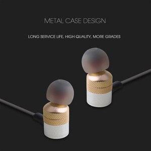 Image 4 - Awei ES 20TY Isolamento de Ruído de Ouvido de Baixo Pesadas com Microfone Fones De Ouvido Handsfree Fone de Ouvido com 1.2m de linha de fone de Ouvido Universal